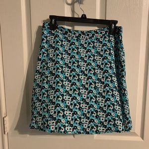 NWT teal Michael Kors skirt